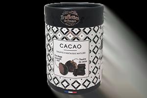 Perle de cacao à la poudre de cacao amère