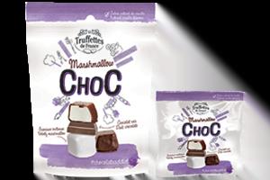 Guimauve enrobée de chocolat