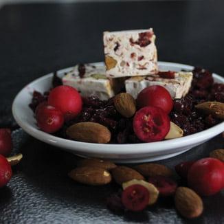 nougat-cranberry