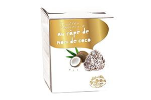 TRUFFE ENROBEE DE RAPE DE NOIX DE COCO