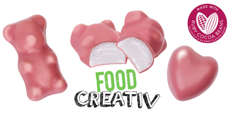 La guimauve enrobée de chocolat RUBY, innovation Chocmod 2020, a été sélectionnée parmi les finalistes du concours FOODCREATIV